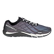 Mens Merrell Bare Access Flex Running Shoe - Black/Silver 7.5