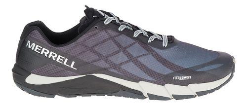 Mens Merrell Bare Access Flex Running Shoe - Black/Silver 10.5