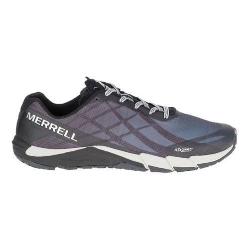 Mens Merrell Bare Access Flex Running Shoe - Black/Silver 13