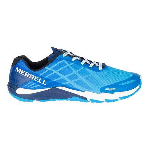 Mens Merrell Bare Access Flex Running Shoe - Cyan 8.5