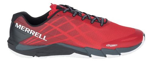 Mens Merrell Bare Access Flex Running Shoe - High Risk Red 8