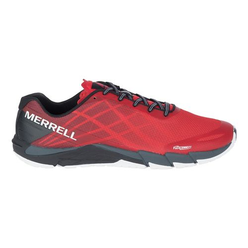 Mens Merrell Bare Access Flex Running Shoe - High Risk Red 7
