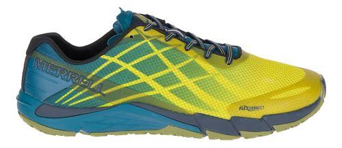 Mens Merrell Bare Access Flex Running Shoe - Citronelle 7.5