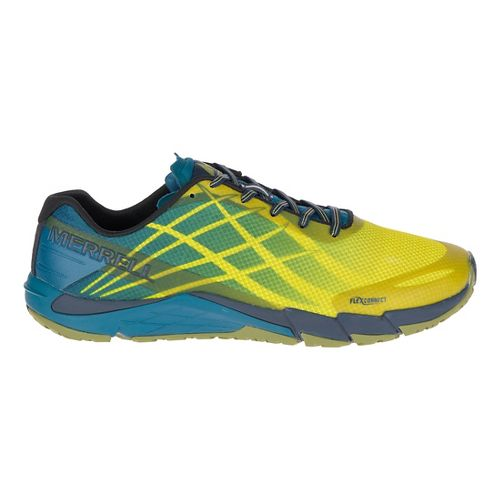 Mens Merrell Bare Access Flex Running Shoe - Citronelle 9