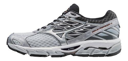 Mens Mizuno Wave Paradox 4 Running Shoe - Light Grey/Silver 11