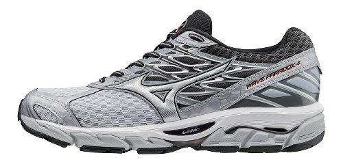 Mens Mizuno Wave Paradox 4 Running Shoe - Light Grey/Silver 12