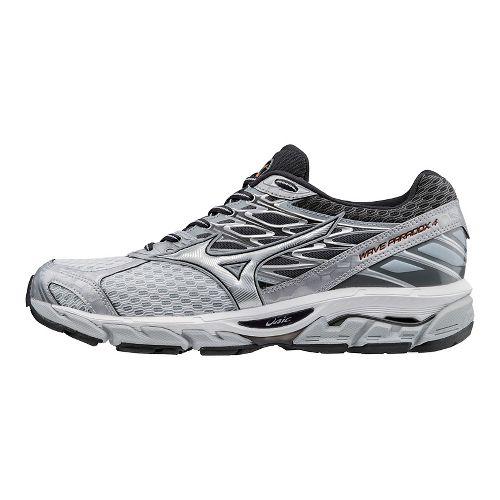 Mens Mizuno Wave Paradox 4 Running Shoe - Light Grey/Silver 14