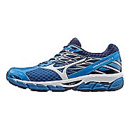 Mens Mizuno Wave Paradox 4 Running Shoe - Blue/White 12.5
