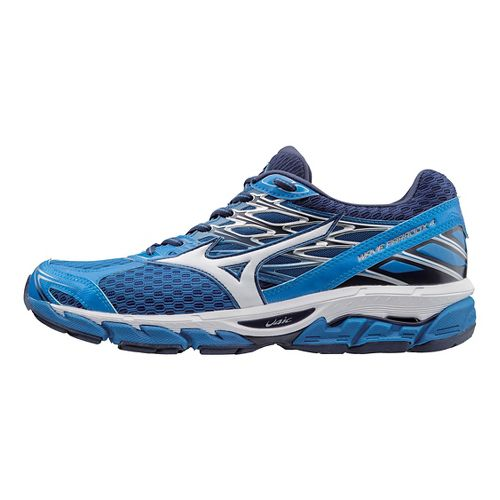 Mens Mizuno Wave Paradox 4 Running Shoe - Blue/White 11.5