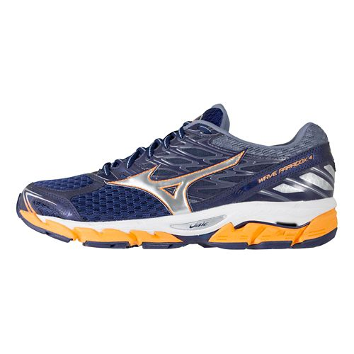 Mens Mizuno Wave Paradox 4 Running Shoe - Eclipse/Silver 9