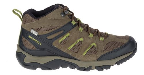 Mens Merrell Outmost Mid Vent Waterproof Hiking Shoe - Boulder 7