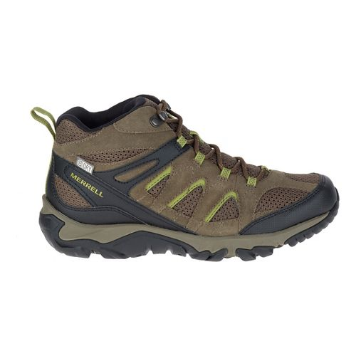 Mens Merrell Outmost Mid Vent Waterproof Hiking Shoe - Boulder 7.5