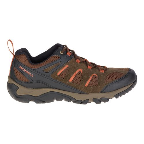 Mens Merrell Outmost Vent Hiking Shoe - Slate Black 13