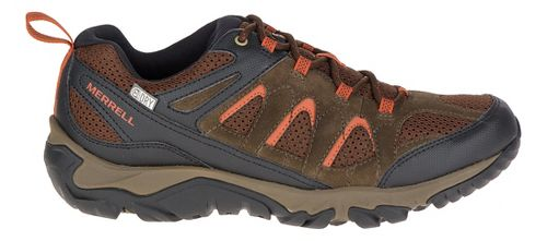 Mens Merrell Outmost Vent Waterproof Hiking Shoe - Slate Black 8