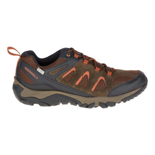 Mens Merrell Outmost Vent Waterproof Hiking Shoe - Slate Black 14