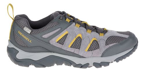 Mens Merrell Outmost Vent Waterproof Hiking Shoe - Frost Grey 10