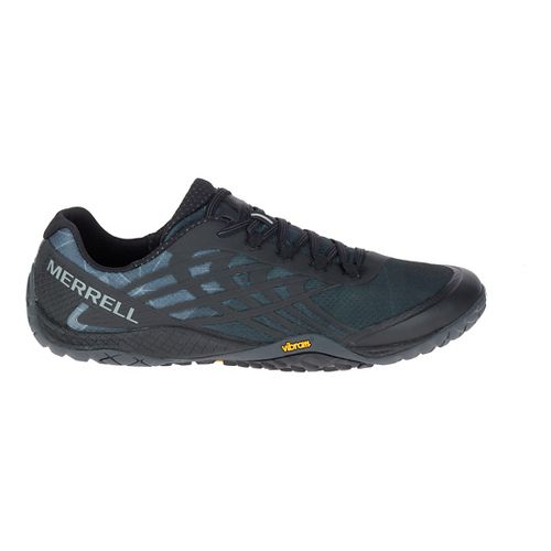 Mens Merrell Trail Glove 4 Trail Running Shoe - Black 15