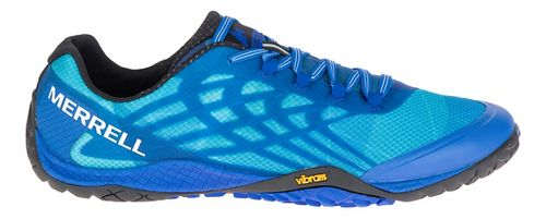 Mens Merrell Trail Glove 4 Trail Running Shoe - Nautical 11.5