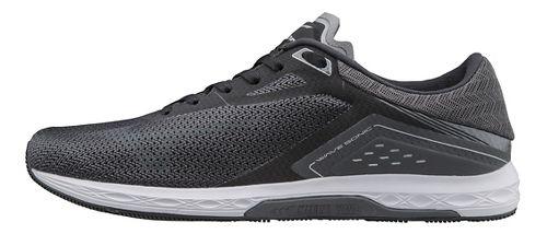 Mens Mizuno Wave Sonic Racing Shoe - Black/Grey 8.5