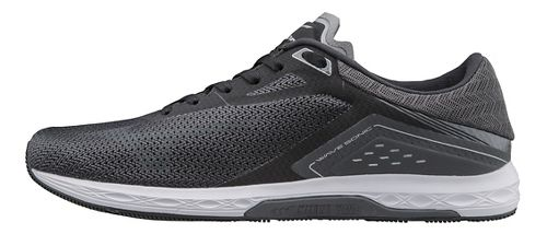 Mens Mizuno Wave Sonic Racing Shoe - Black/Grey 9.5