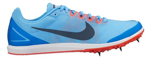 Womens Nike Zoom Rival D 10 Track and Field Shoe - Blue 7.5