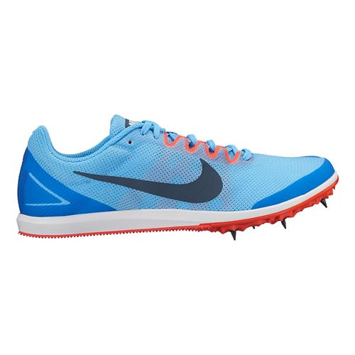 Womens Nike Zoom Rival D 10 Track and Field Shoe - Blue 7