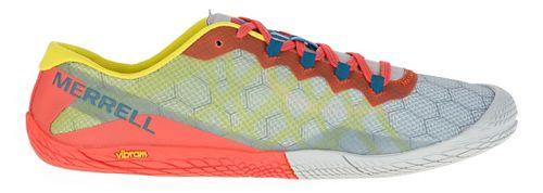 Mens Merrell Vapor Glove 3 Trail Running Shoe - Orange/Green 7.5