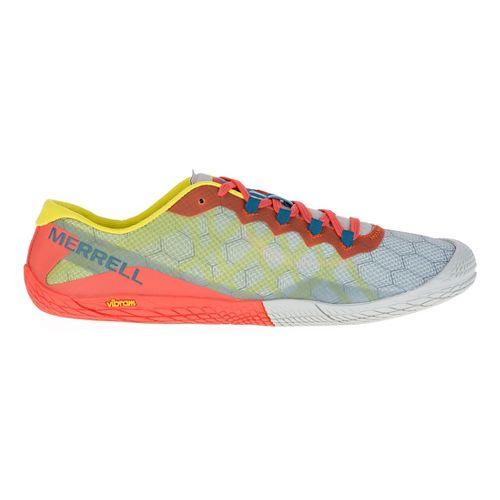 Mens Merrell Vapor Glove 3 Trail Running Shoe - Orange/Green 9.5