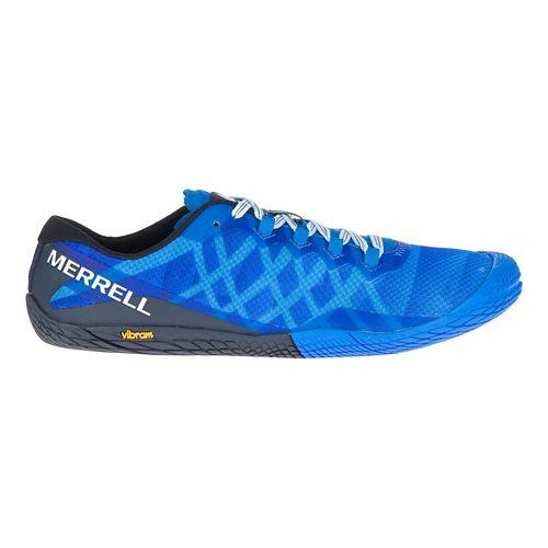 Mens Merrell Vapor Glove 3 Trail Running Shoe - Director Blue 15