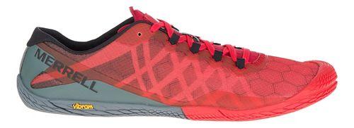 Mens Merrell Vapor Glove 3 Trail Running Shoe - Molten Lava 7