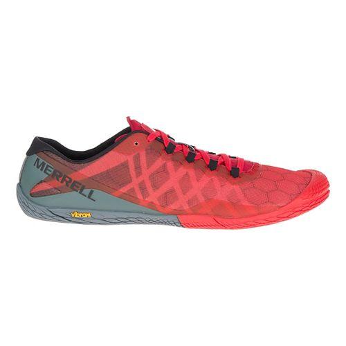 Mens Merrell Vapor Glove 3 Trail Running Shoe - Molten Lava 10
