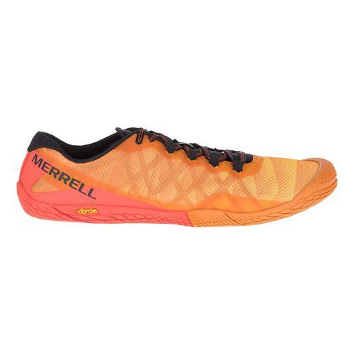 Mens Merrell Vapor Glove 3 Trail Running Shoe - Saffron 9