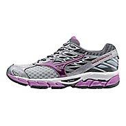 Womens Mizuno Wave Paradox 4 Running Shoe - Light Grey/Violet 7