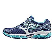 Womens Mizuno Wave Paradox 4 Running Shoe - Blue/White 7