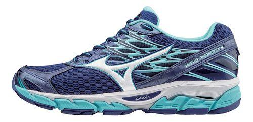 Womens Mizuno Wave Paradox 4 Running Shoe - Blue/White 6.5