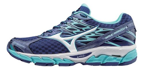 Womens Mizuno Wave Paradox 4 Running Shoe - Blue/White 8