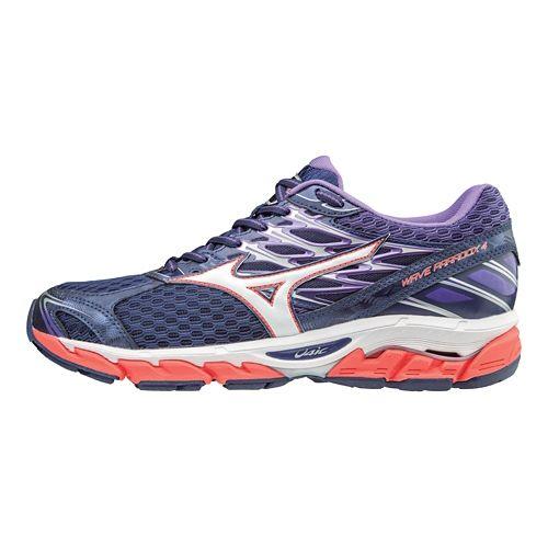 Womens Mizuno Wave Paradox 4 Running Shoe - Patriot Blue/White 11