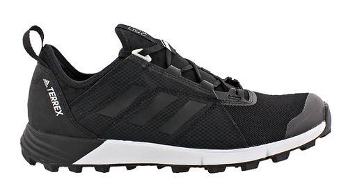 Mens adidas Terrex Agravic Speed Trail Running Shoe - Black/Grey 8.5