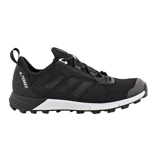 Mens adidas Terrex Agravic Speed Trail Running Shoe - Black/Grey 9