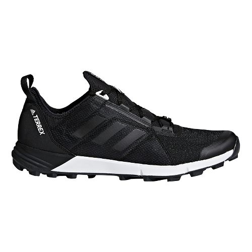Mens adidas Terrex Agravic Speed Trail Running Shoe - Black/Black 11