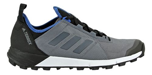 Mens adidas Terrex Agravic Speed Trail Running Shoe - Grey/Blue 11