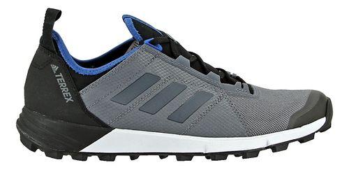 Mens adidas Terrex Agravic Speed Trail Running Shoe - Grey/Blue 9.5