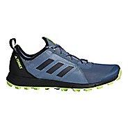 Mens adidas Terrex Agravic Speed Trail Running Shoe - Steel/Black 10