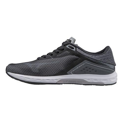Womens Mizuno Wave Sonic Racing Shoe - Black/Grey 7