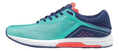 Womens Mizuno Wave Sonic Racing Shoe - Turquoise 8