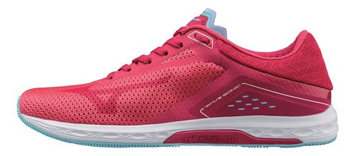 Womens Mizuno Wave Sonic Racing Shoe - Pink/Blue 11