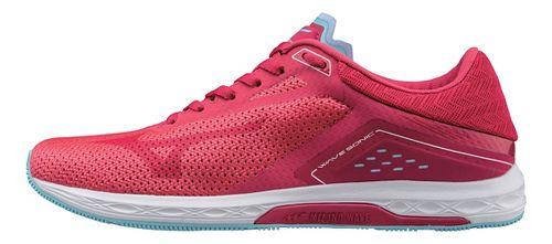 Womens Mizuno Wave Sonic Racing Shoe - Pink/Blue 7.5