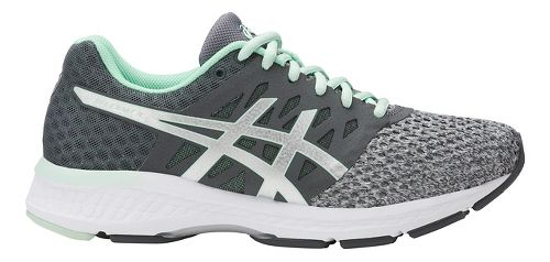 Womens ASICS GEL-Exalt 4 Running Shoe - Gret/Mint 11