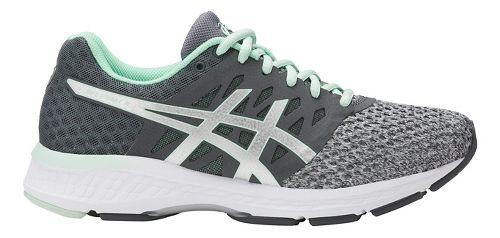 Womens ASICS GEL-Exalt 4 Running Shoe - Grey/Mint 7