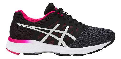 Womens ASICS GEL-Exalt 4 Running Shoe - Carbon/Pink 10.5